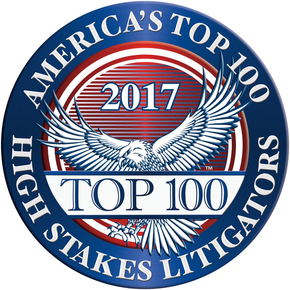 2017 Top 100 High Stakes Litigator