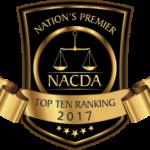Nation's Premier Criminal Defense Attorneys Badge 2017